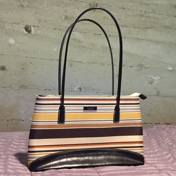 kate spade Handbags - Kate Spade New York Striped Tote